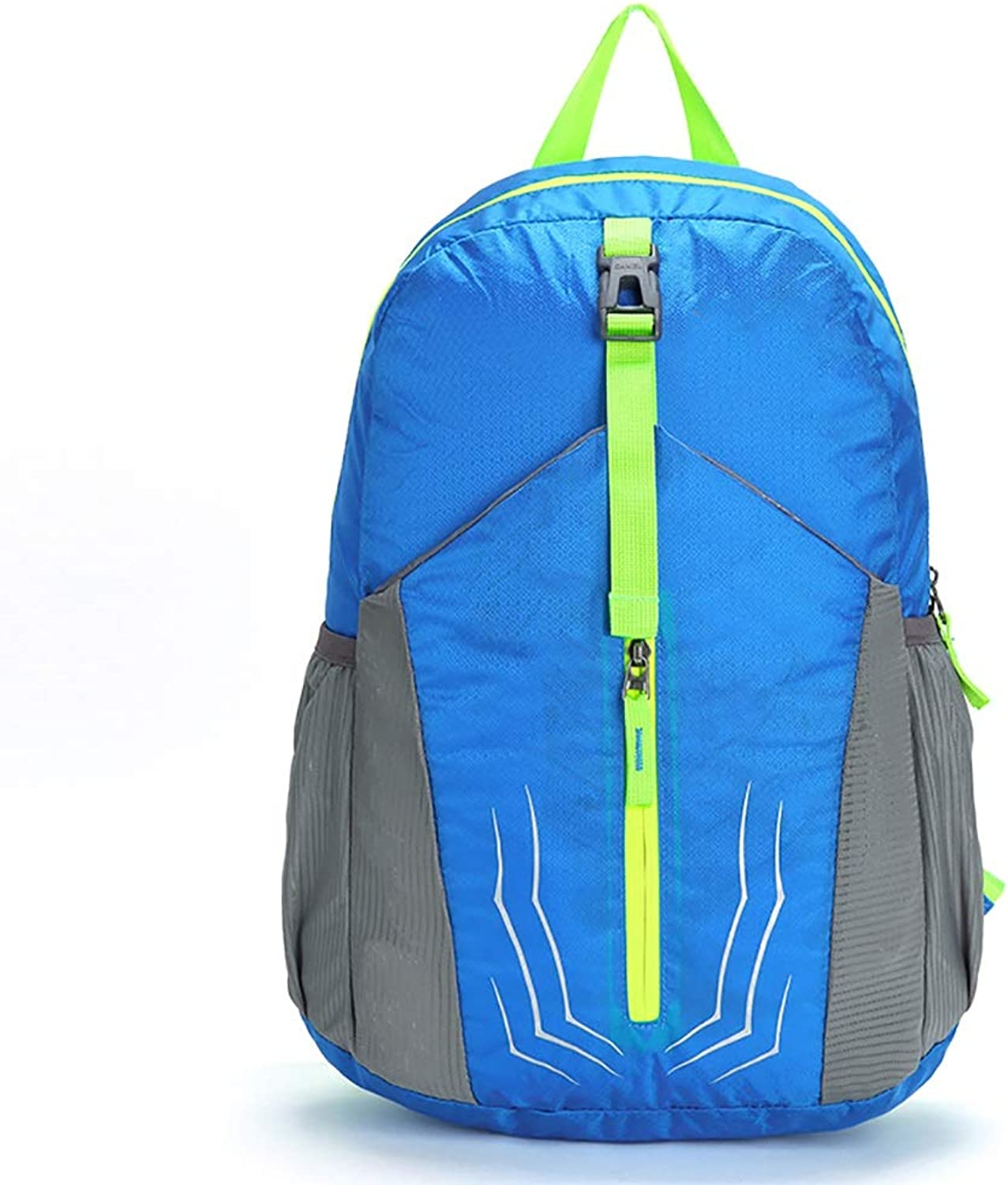 Lightweight Travel Hiking Backpack Daypack 20L Camping Backpack Ultralight Outdoor Sport Backpack blueee