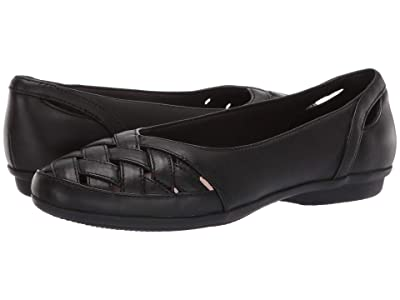 Clarks Gracelin Maze (Black Leather) Women