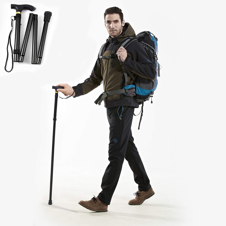 GPCT Folding Popularity Walking Stick Hiking Poles Lightweight Collapsible Nashville-Davidson Mall