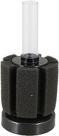 XINYOU XY-2835 Fish Aquarium Mini Cylinder Soft Sponge Water Filter, Black