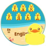 Cartoon Young Duck Chic keyboard Theme