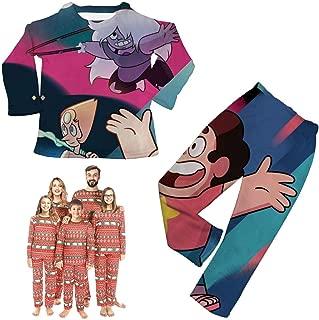 Believe-in-Steven Christmas Kids Pajamas Family Matching Sleepwear Pjs Clothes Boys Girls Toddler