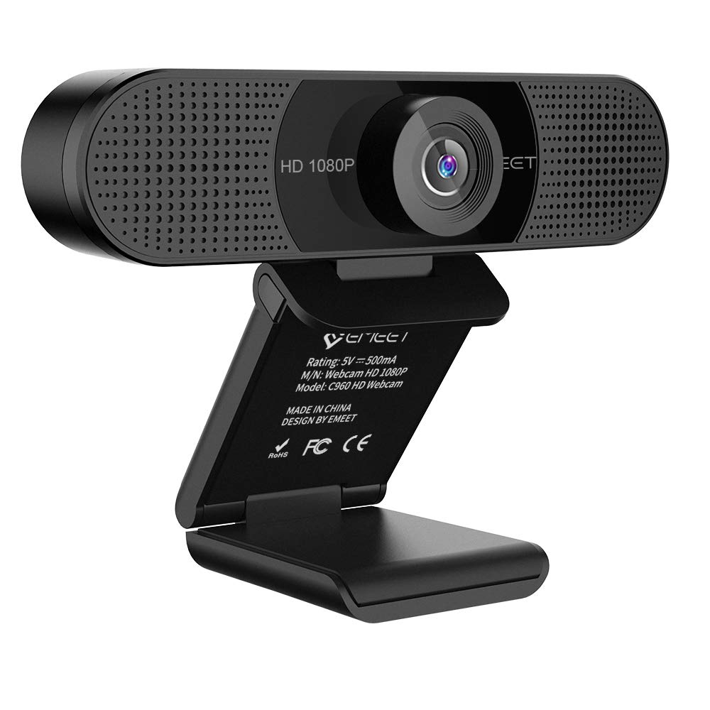 Amazon Com Webcam 1080p Emeet C960 Full Hd Webcam With