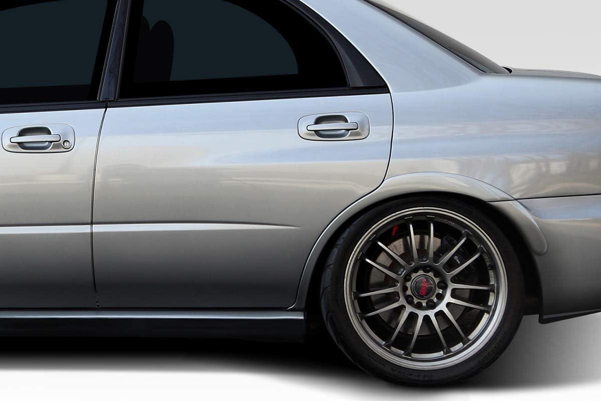 Duraflex Race Rear Fender Flares Body Kit for 04-07 Subaru Impreza WRX 4DR