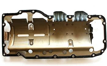 ECCPP Engine Oil Pan Gasket Replacement for Jeep Grand Cherokee Mitsubishi Raider Chrysler Aspen Dodge Dakota Durango Ram 1500 Dakota 4.7L OS30709R Cylinder Oil Pan Gaskets Kit