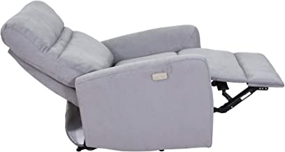Avanti Sillon Reclinable Individual Sala Moderno Lincoln (Grey)