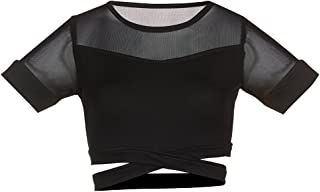 Soffe Women's Juniors Crop Dance Top