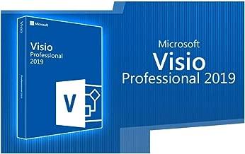 Visio 2019 Professional Plus - Licence perpétuel original - Pas d'abonnement - Licence numérique Envoi numérique- seulement pour windows 10