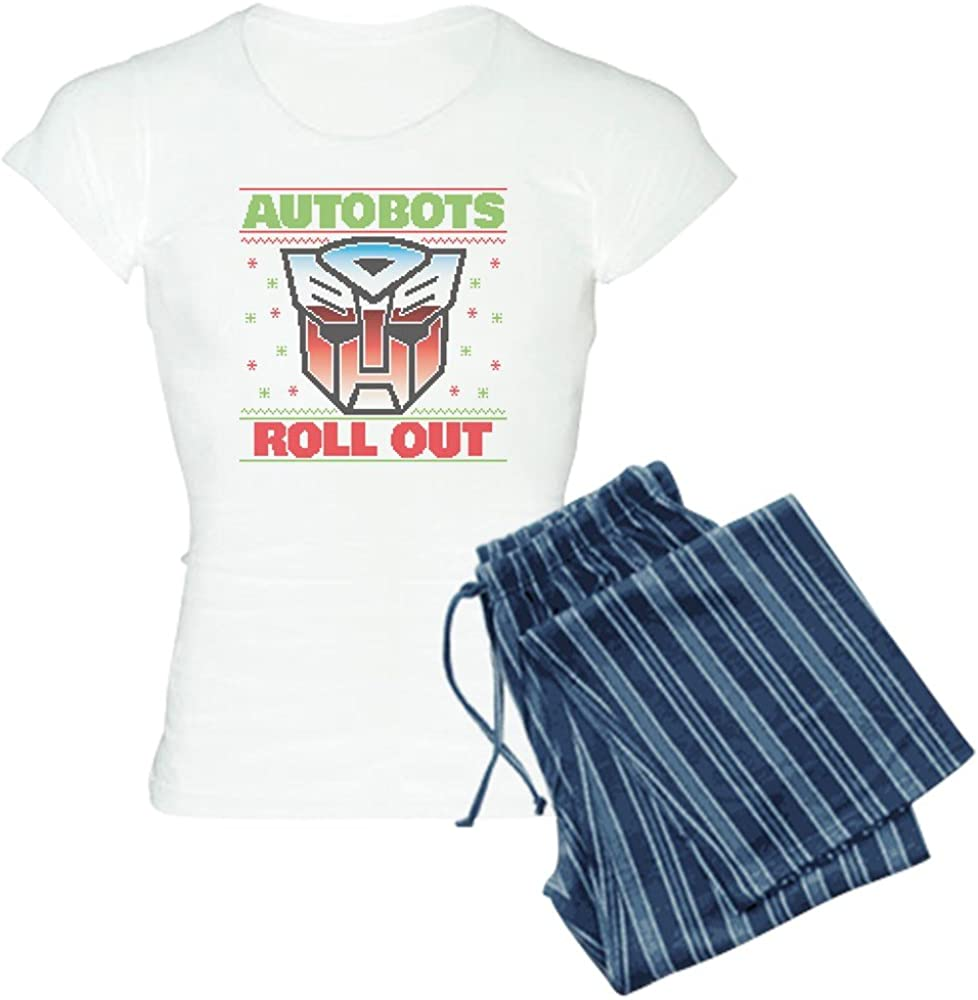 CafePress New mail order Transformers Autobots PJs Women's Roll Beauty products