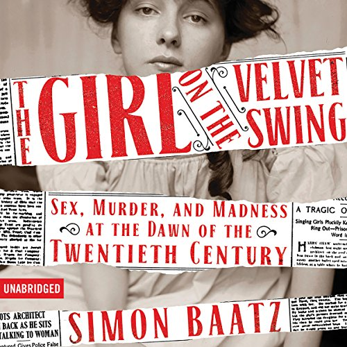 The Girl on the Velvet Swing audiobook cover art