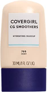 COVERGIRL Smoothers Hydrating Makeup Foundation, Ivory (packaging may vary)