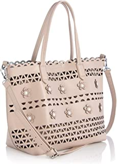 Shiraleah Monaco Rose Sequin Tote Rose One