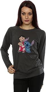 Disney Women's Classic Lilo & Stitch Sweatshirt