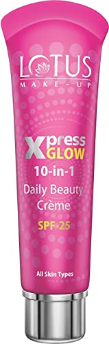 Lotus Make-up Xpress Glow 10 in 1 Daily Beauty Crème Royal Pearl | SPF 25 | 30g