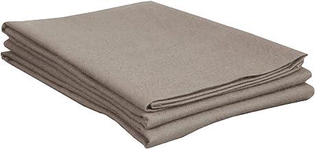 Superior Premium Cotton Flannel Pillowcases, All Season 100% Brushed Cotton Flannel Bedding, Pillowcase Set of 2 - Grey So...