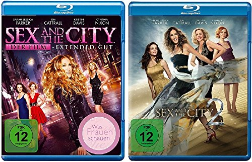 Sex and the City Teil 1+2 - Die Filme [Blu-ray Set]