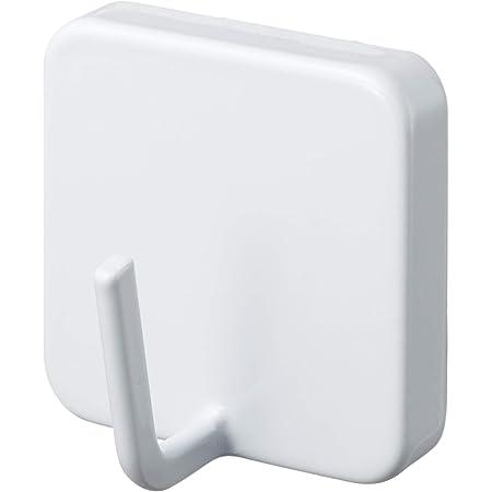 山崎実業 マグネットフック ホワイト 約W4.8×D3.3×H4.8cm タワー 2260