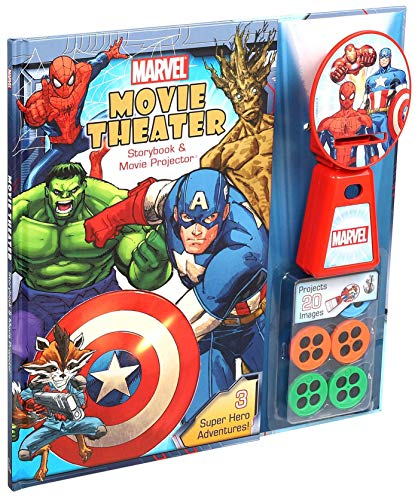 Marvel Movie Theater Storybook & Movie Projector. Buy it now for 15.81
