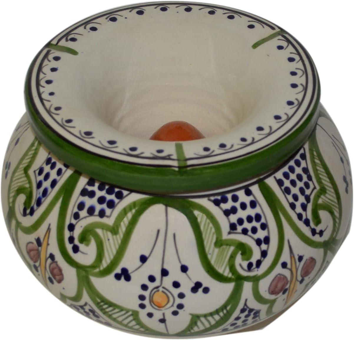 Moroccan Handmade Ceramic Ashtrays des Smokeless Exquisite Cigar Super Special SALE held unisex