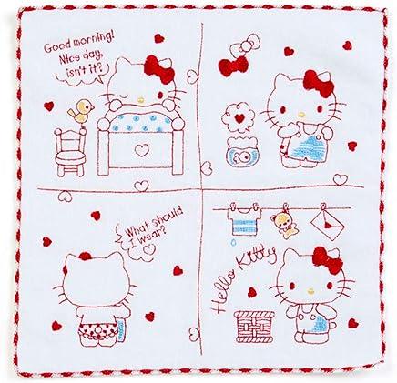 30 x 30 cm manopla algod/ón Hello Kitty Toalla de mano