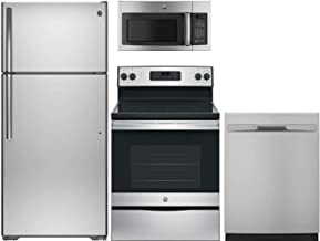 GE 4-Piece Appliance Package with GTS16GSHSS 28