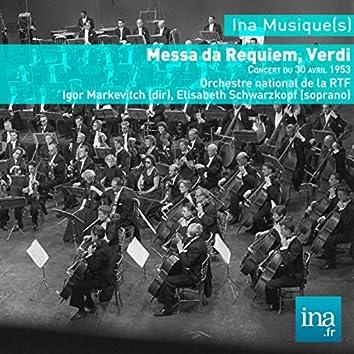 Messa da Requiem, Giuseppe Verdi, Orchestre national de la RTF