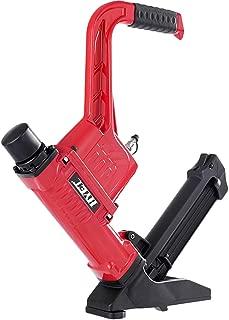 Goplus Pneumatic Flooring Nailer and Stapler 16-Gauge Cleat Air Hardwood Flooring Tool with Rubber Mallet (3-in-1)