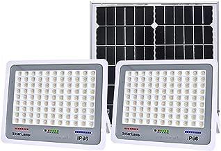 Solar Flood Lights Outdoor Garden Waterdicht 100W 200W 300W, Grote capaciteit Aluminium Case Solar Lights Outdoor Securit...