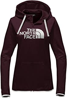 598b2b47d581 The North Face Women s Fave Lite Half Dome Full Zip Hoodie Deep Garnet Red  Heather