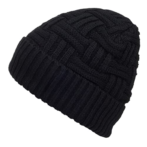 09a1b3b00b08f Spikerking Mens Winter Knitting Wool Warm Hat Daily Slouchy Hats Beanie  Skull Cap