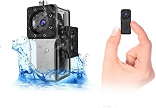 $59 » Waterproof Mini Spy Camera WiFi Hidden, ZZCP HD Portable Small Wireless Nanny Cam 1080P with Night Vision and Motion Detec...