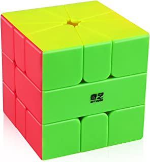 Coogam Qiyi Qifa Square-1 Cube SQ1 Magic Stickerless Speed Square-one Cube Shaped Puzzle Smooth Turning Square1 SQ 1 Cube ...