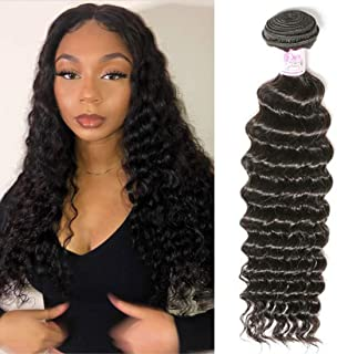 Beauty Forever Hair 8A Grade 100% Unprocessed Malaysian Deep Wave virgin hair 1 Bundle Remy Human Hair Wave Natural Color Can Be Dyed and Bleached (16)