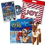 The Elf on the Shelf Elf Pets Reindeer Tradition: All New Santa's Reindeer Rescue DVD Movie, Reindeer Plush, and Joy Travel Bag