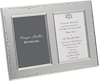Waterford Monique Lhuillier Modern Love Double Invitation Frame