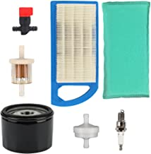 Harbot 794422 795115 Air Filter Tune Up Kit for Briggs & Stratton 698083 697153 697014 797008 Intek 15.5 and 17-17.5HP Tractor Engines John Deere Toro Lawn Mower