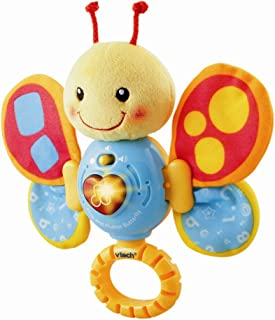 VTech Sing and Flutter Butterfly Rattle Multi Color, 117803