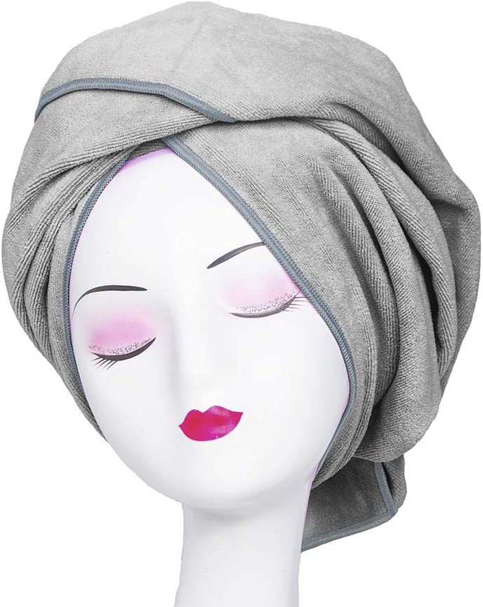 Microfiber Towel for Genuine Curly sale Hair Absorbent Super Frizz Large Anti