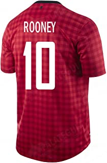 NIKE Rooney #10 Manchester United Home Soccer Jersey Youth.