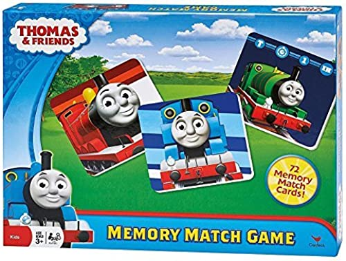 Thomas and Friends Memory Match voitured Game by Toysmith