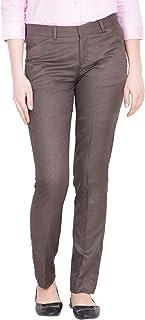 American-Elm Women's Slim Fit Casual Trouser