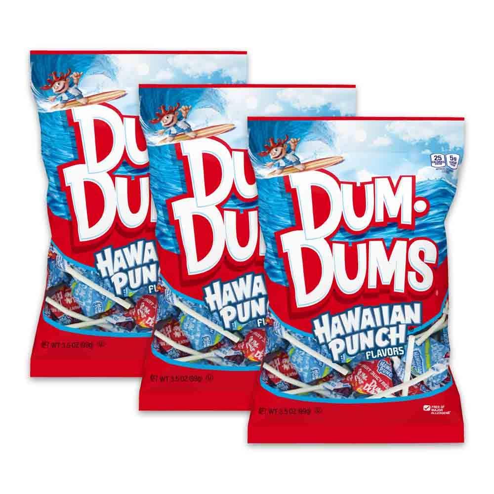 Dum Translated Dums Lollipops Hard Candy Suckers Cheap 3-Pack 42 Oz. Po 3.5 Bag