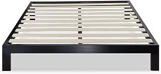 Zinus Arnav Modern Studio 10 Inch Platform 2000 Metal Bed Frame / Mattress Foundation / No Box Spring Needed / Wooden Slat Support / Good Design Award Winner, Queen
