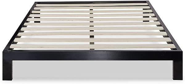 Zinus Arnav Modern Studio 10 Inch Platform 2000 Metal Bed Frame Mattress Foundation No Box Spring Needed Wooden Slat Support Good Design Award Winner King