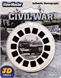 ViewMaster -The Civil War - Authentic Stereographs 1861-1865 - 3 Reels on Card