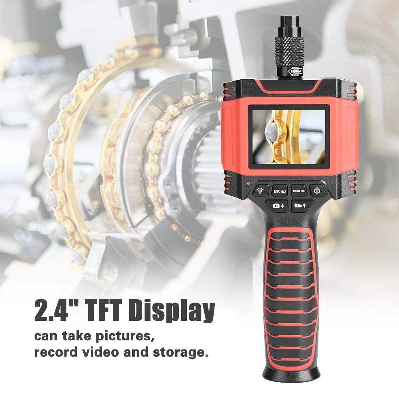 バリアびっくりする不良品内視鏡カメラ、99D3 2.4インチTFT LCDスクリーン8.5 mm 1Mハンドヘルド産業用内視鏡、6個のLED