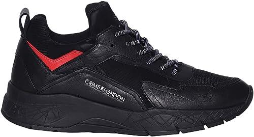 Crime chaussures paniers Komrad hommes 11943 20 noir AI18