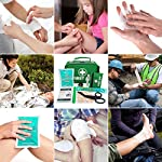 2 in 1 Large First Aid Kit for Home, Car, Camping, Office, Boat, and Traveling 100