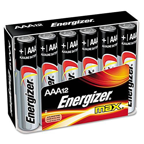 Energizer - MAX Alkaline Batterien, AAA, 12 Batterien/Pack - Einzelpäckchen , 1 Stück - Dependable, kraftvolle Leistung.