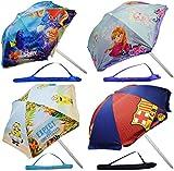 alles-meine.de GmbH Sonnenschirm / Strandschirm -  Disney Frozen - die Eiskönigin  - Ø 130 cm - UV-Schutz - UV 50 + / für Kinder - Kinder - Gartenmöbel - Campingschirm / Kinder..